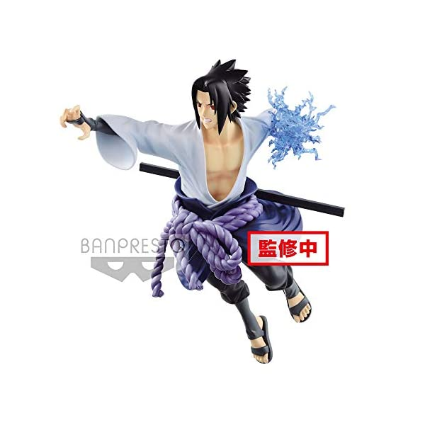 Naruto Shippuden - Figura de colección Uchiha Sasuke (Bandai 85456) 1