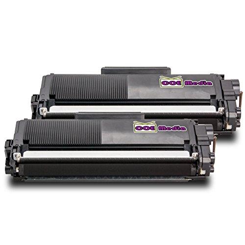 Twin Pack - 2x Toner kompatibel zu DELL 593-BBLR | 2x Schwarz ca. 2600 Seiten | für Dell E310dw, E514dw, E515dn, E515dw