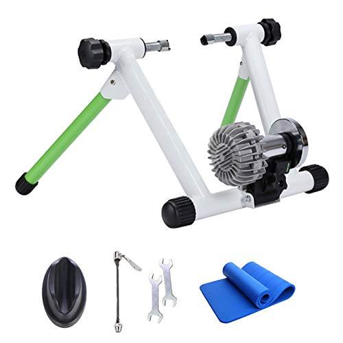 CLOUDH Rodillo Bicicleta Plegable, EnergíA HidráUlica Bicicletas Trainer, Cubierta Plegable de Bicicleta de Ejercicios Trainer MáQuina, Conveniente para 26-29' O Rueda 700c
