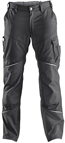 KÜBLER ACTIVIQ Arbeitshose High (mit Knieschutzpolstertaschen), einfarbig, grau, Größe 46