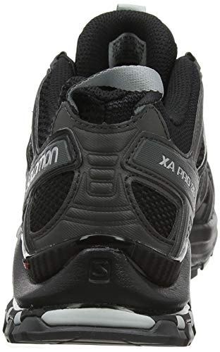 Salomon Homme Chaussures de Trail Running, XA PRO 3D, Couleur: Noir (Black/Magnet/Quiet Shade),...