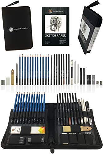 Premium Art Supplies Drawing Set...