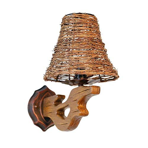 Asiatische Wandleuchte mit Kippschaltern Handgemachtes Reispapier Creme Watt Kronleuchter Glühbirne enthielt, Moderne Wandleuchte Plug-in rechteckig Nickel gebürstet weißen Schirm for Wohnzimmer Schla
