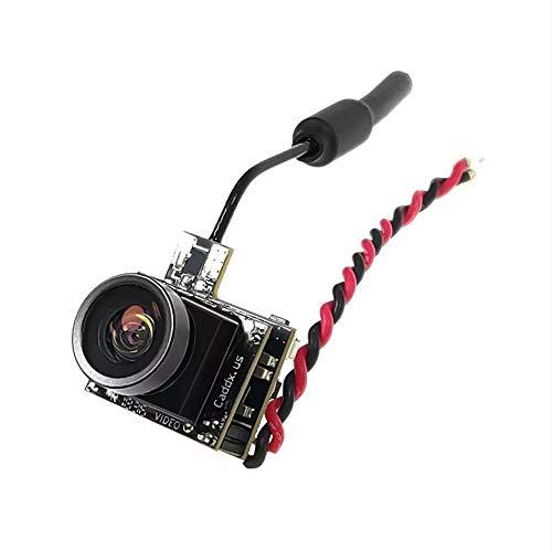 ETbotu Caddx Käfer V1 5.8Ghz 48CH 25mW CMOS 800TVL 170 Grad Mini FPV Kamera AIO LED Licht für RC Drone NTSC 4: 3