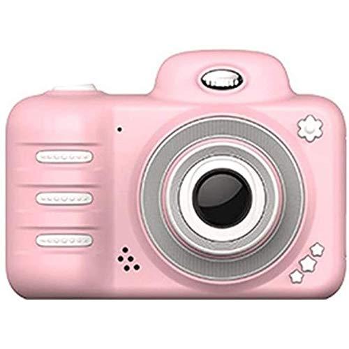 HengYue Kinderkamera Kinder Camcorder 2 4-Zoll-HD Real 800W Pixel Fotos Digitaler Videorecorder Kamera Lernspielzeug Geschenk,Pink-16G