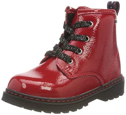 TOM TAILOR Baby-Mädchen 9071502 Halblange Stiefel, red, 25 EU