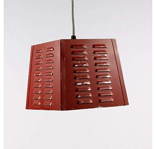 LaMaisonHenri Lampe Suspension Vintage Rouge