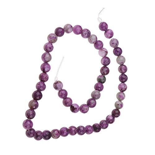 Non-brand Sugilit Sugilith Rund Edelstein Loose Beads Perlen