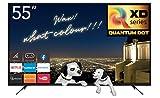 RCA RQSM6527 Smart TV, 55-inch, 4k UHD, Quantum Dot Pixel LED TV, Home Theater