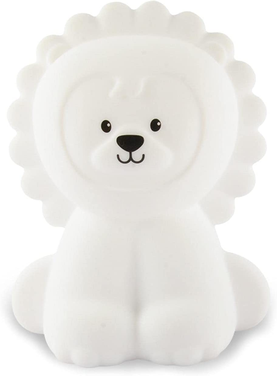 Children LED Lion Silicone New product!! Outlet ☆ Free Shipping Night Lamp Light USB Rechargeable Hom