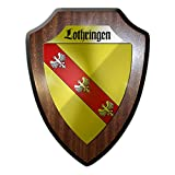 Copytec Wappenschild Lothringen Lorraine Frankreich Deutschland Wappen Abzeichen Region#24323