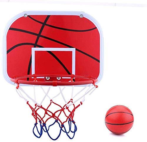 daxiongdi Mini canestro da Basket per canestro da Basket e Set da Esterno per Giochi da Interno e da Esterno e Pallacanestro con Pompa ad Aria Senza P
