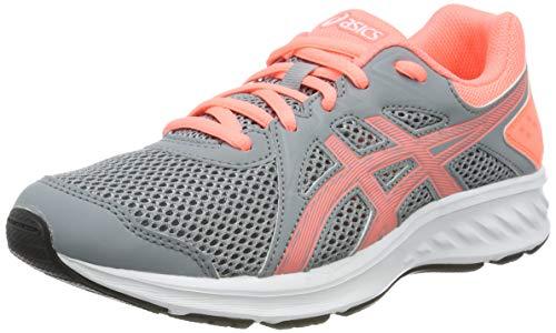 Asics Jolt 2 GS, Zapatillas de Running Unisex Niños, Gris (Sheet Rock/Sun Coral 022), 39 EU