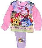 Schlafanzug Kinder Baby Pyjama Set Hose Shirt Winnie Pooh Disney 74-104 Anzug (3/4-98/104-104cm.)