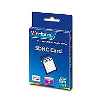 バーベイタム SDHCカード 4GBClass4 業務用パック SDHC4GYVB1C 1セット(10枚)