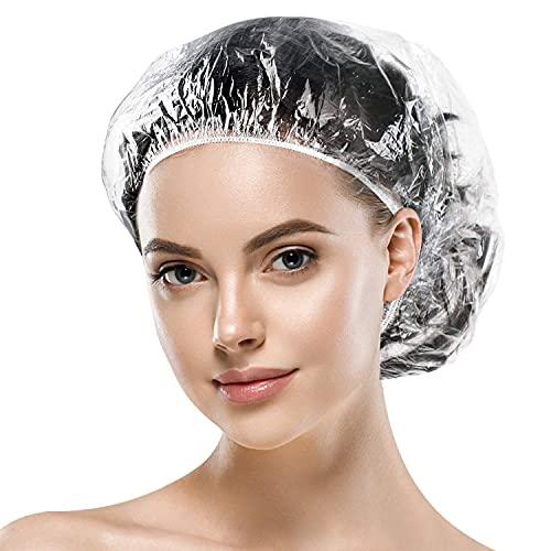 Sopito Cuffie da doccia monouso Elastico Bagno Cuffie da doccia per Hotel, Salon, Uso Domestico (100 Pezzi)