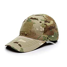 Casquette de Baseball Camouflage,Casquettes de Militaire Army Camo Baseball Caps Unisexe Hommes Femmes Multicam pour…