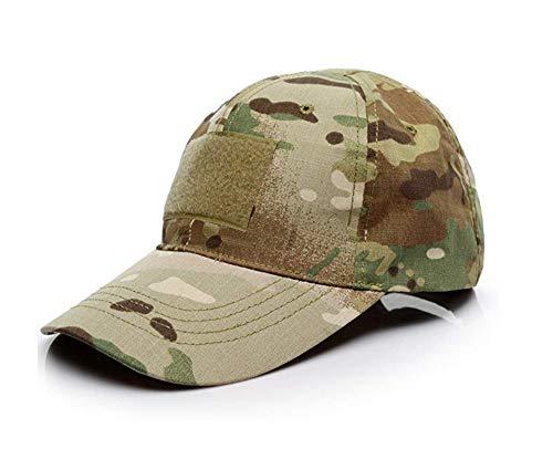 Baseballkappen Camo,Baseball Cap Camouflage Hut Unisex Damen Herren Baseball Kappen Multicam Style Caps für Jagd Angeln Camping Werden Sport