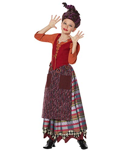 Spirit Halloween Tween Mary Sanderson The Signature Collection Hocus Pocus Costume | Officially Licensed