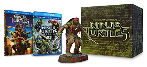 Teenage Mutant Ninja Turtles & TMNT: Out Of The Shadows (Raphael Gift Set) (Blu-ray 3D + Blu-ray + DVD)
