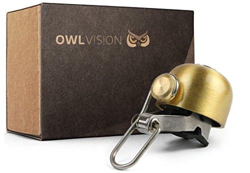 OWL VISION Fahrradklingel Hoot - Stylus (Gold)
