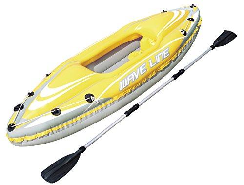 Bestway Hydro-Force - Kayak individual, 280 x 75 cm, incluye remo desmontable