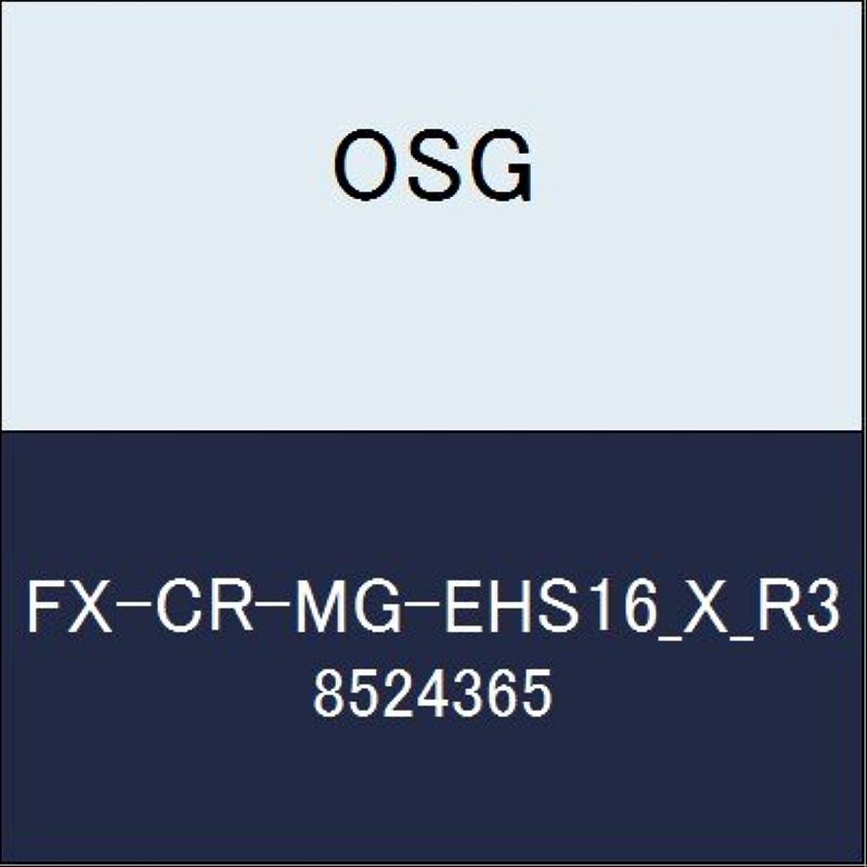巻き戻す恥ずかしい相対的OSG エンドミル FX-CR-MG-EHS16_X_R3 商品番号 8524365