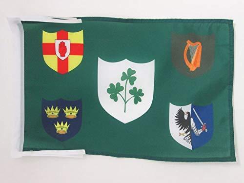 AZ FLAG Flagge Irish Rugby 45x30cm mit Kordel - Republik Irland Fahne 30 x 45 cm - flaggen Top Qualität