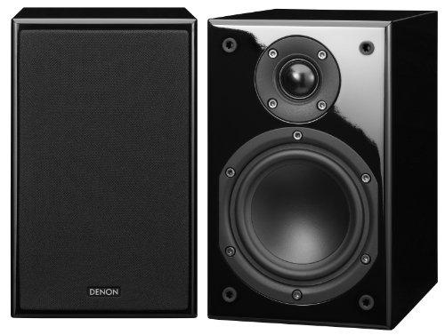 Denon SC-X1000 Kompakt-Lautsprecher (60 Watt) Paar schwarz