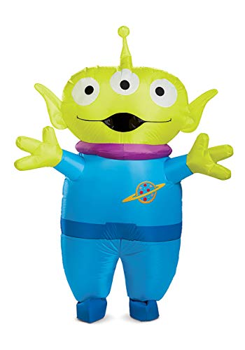 Disney Toy Story Adult Alien Inflatable Costume Standard