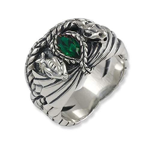 Herr der Ringe/Hobbit Schmuck by Schumann Design Ring Barahir Aragorn aus 925 Silber 10004057