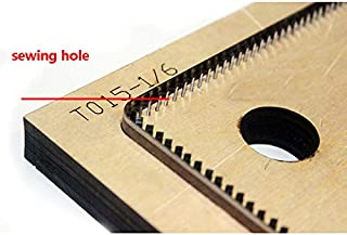 Japan Steel Blade Wooden Dies DIY Leather Craft Small Card Holder Wallet die Cutting Mould Set Hand Punch Tool Template (with Stitch Hole)