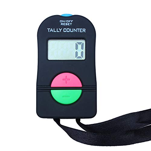 Contador manual electrónico de la cuenta de la mano Clicker manual electrónico agregar / restar el modelo para los deportes del golf