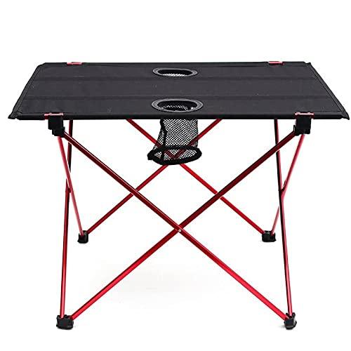Tragbarer Klapptisch im Freien, Camping-Tisch, kleiner Klapptisch, Angelstuhl/Strandtisch, Camping-Klapptisch-Set (Size : Table)