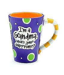80th Birthday Gift Ideas For Your Grandma Im A Whats Super Power Coffee Mug