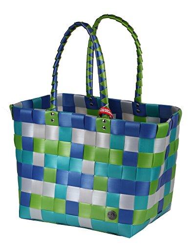 5010-19 ICE-BAG Shopper Witzgall Original Einkaufstasche Einkaufskorb Witzgall - mintgrün, silberrau, anthrazit