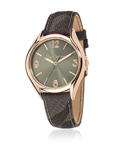 Pepe Jeans de mujer reloj de pulsera Alice analógico de cuarzo piel r2351101506