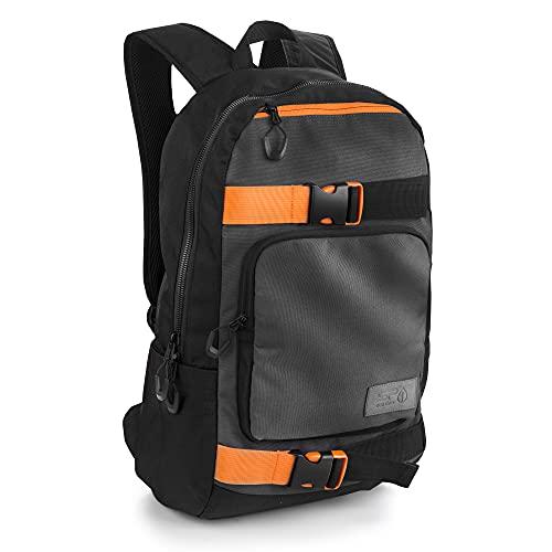 Spokey Backpack Zaino, Nero, 48 x 31 x 17 cm Unisex-Adulto