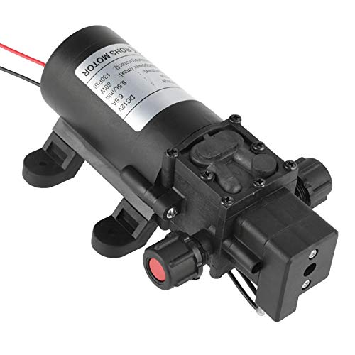 Tomantery Bomba De Agua Autocebante, 5.5L / MIN Corrosión - Bomba De Diafragma Resistente para Agricultura Marina para Césped para Barco