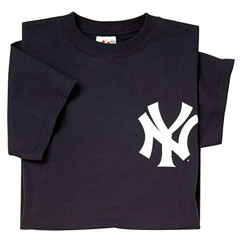 Majestic Adult MLB Replica Crewneck Team Jersey New York Yankees Large