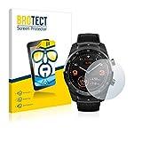 brotect Pellicola Protettiva Compatibile con Mobvoi Ticwatch PRO / C2 / E2 Pellicola Trasparente (2 Pezzi) Anti-Impronte