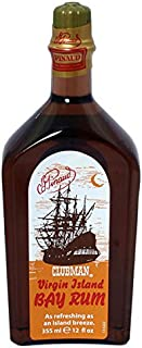 Clubman Pinaud Virgin Island Bay Rum Men`S Aftershave Cologne 12 Oz.