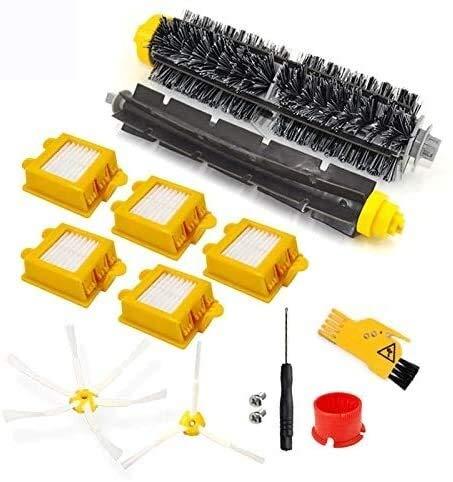 YAJIWU Piezas de repuesto para IRobot Roomba 700 Series Kit de repuesto 760 770 772 774 775 776 780 782 785 786 790 Aspiradora, filtros y cepillos Piezas de aspiradora