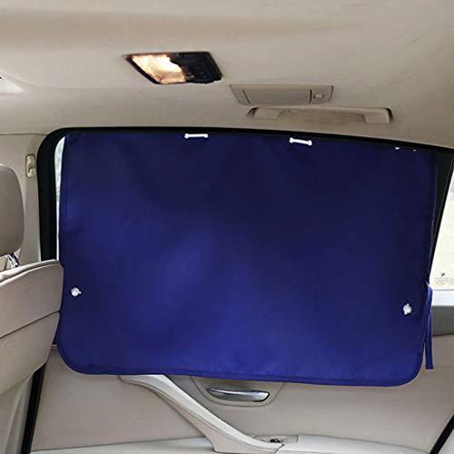 Z-W-Dong - Cortina de protección solar para el coche, cortina de oscurecimiento de la ventana del coche, cortina, aislante, transpirable,