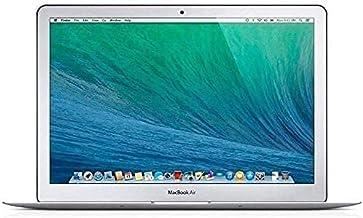 """Apple MacBook Air 11.6"""" (i5-4250u 4gb 128gb SSD) QWERTY U.S Teclado MD711LL/A Mitad 2013 Plata (Reacondicionado)"""