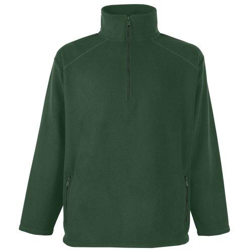 Fruit of the Loom - Sweat-shirt - Homme vert Vert bouteille XXL