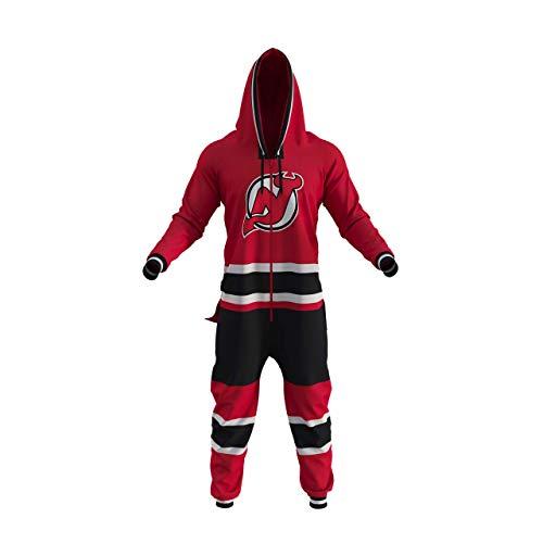 Hockey Sockey NHL New Jersey Devils Onesie (L) Red