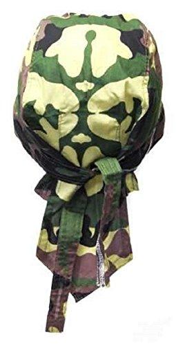 Bandana casquette préformée moto paintball foot dessin camouflage