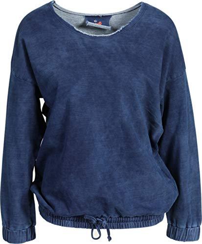 GWYNEDDS Damen Sweatshirt Gigy in Blau S
