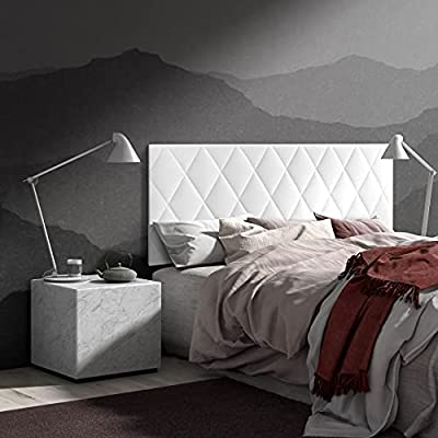 ✅ Cabecero de diseño (PREMIUM) en varios colores. Tapizado en Ecopiel tacto suave. Cabecero tapizado con piel sintética de buena calidad. ✅ Acabado en Rombos y acolchado. Ideal para todo tipo de dormitorios. Gracias a su diseño se adapta a cualquier ...